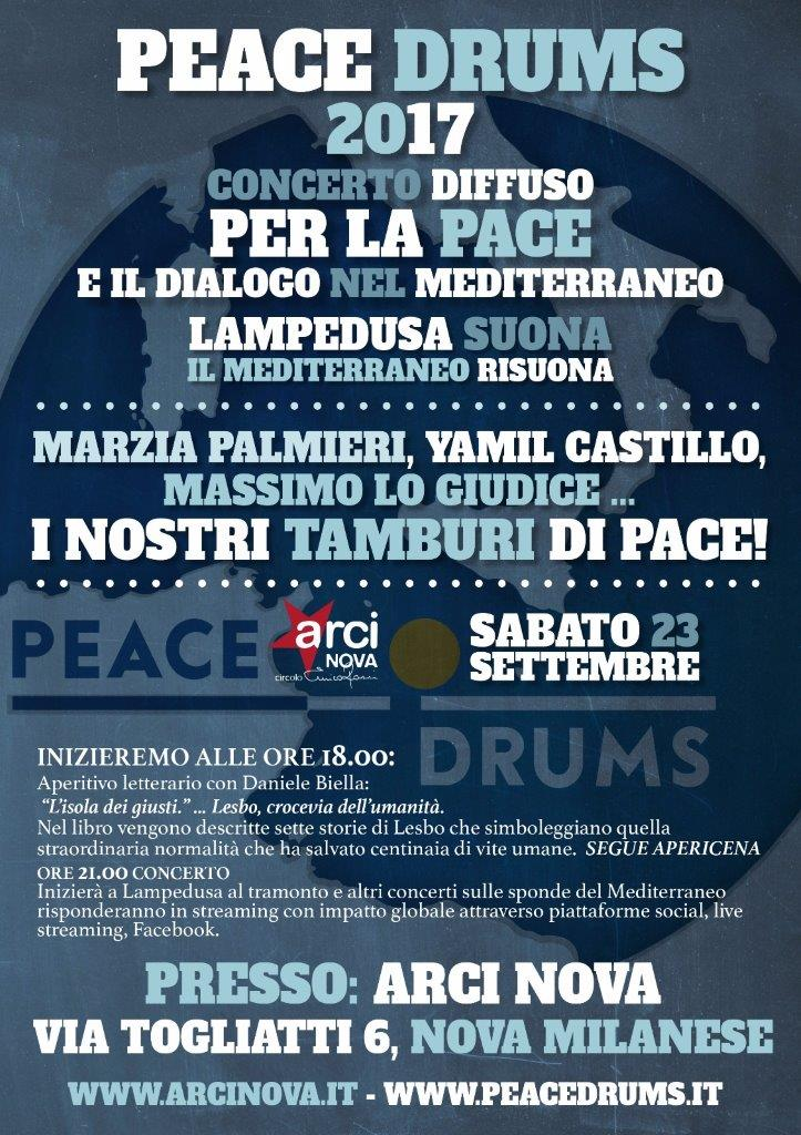 PEACE DRUMS VOL-ARCINOVA2017
