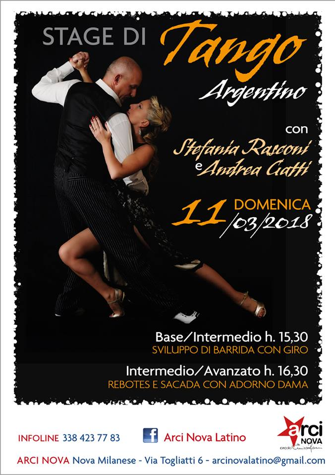 Stage tango 10-03-18