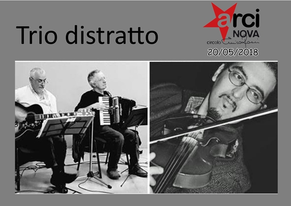 folk trio distratto